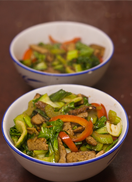 Tempe and Ginger Stirfry